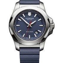 Victorinox Swiss Army INOX on blue strap rrp $725featured